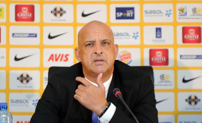 Owen Da Gama coach of South Africa U23 (Sydney Mahlangu/ BackpagePix)