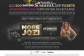 WIN your share of 500 Gauteng SANSUI Summer Cup tickets