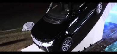 Can a Range Rover drive over a paper bridge?