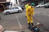 Parks Tau leads Braam clean-up after Pikitup strike