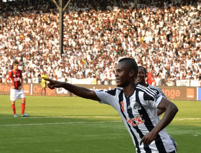 AFP / Junior Kannah<br />Lubumbashi TP Mazembe's forward Mbwana Samatta celebrates after scoring