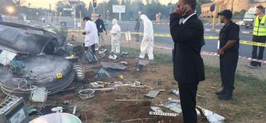 Clover UFO crash in pictures