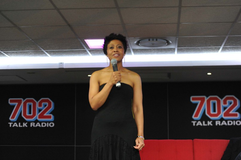 Writer and Radio 702 Redi Tlhabi (Photo by Gallo Images / City Press / Lucky Nxumalo)
