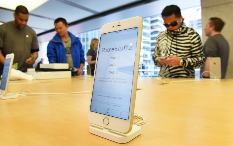 Record revenue for Apple as iPhone sales dip