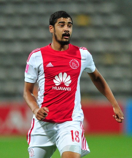 Abbubaker Mobara of Ajax Cape Town. ©Ryan Wilkisky/BackpagePix