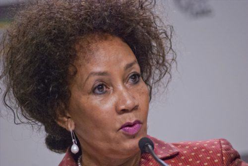 Minister of Human Settlements Lindiwe Sisulu. Picture: Gallo Images