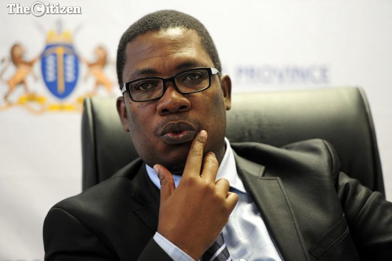 Gauteng Education MEC, Panyaza Lesufi . Picture: Nigel Sibanda