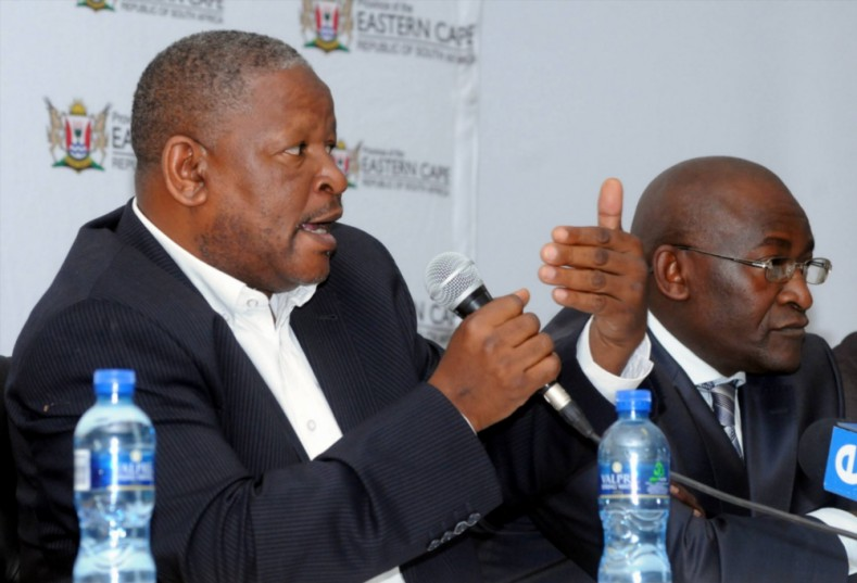 Education MEC Mandla Makupula on January 6, 2012 in Eastern Cape, South Africa. Picture: Gallo Images