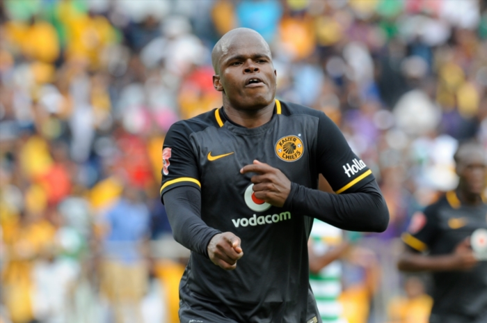 Willard Katsande of Kaizer Chiefs celebrating his goal. (Photo by Charle Lombard/Gallo Images)