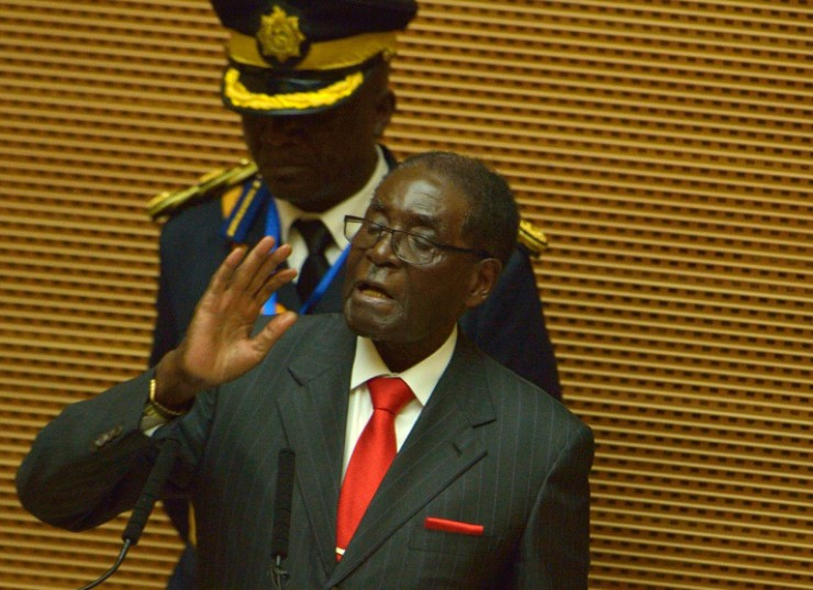 AFP/File / Tony Karumba<br />Zimbabwe President Robert Mugabe has also cracked down on the independent media for years.
