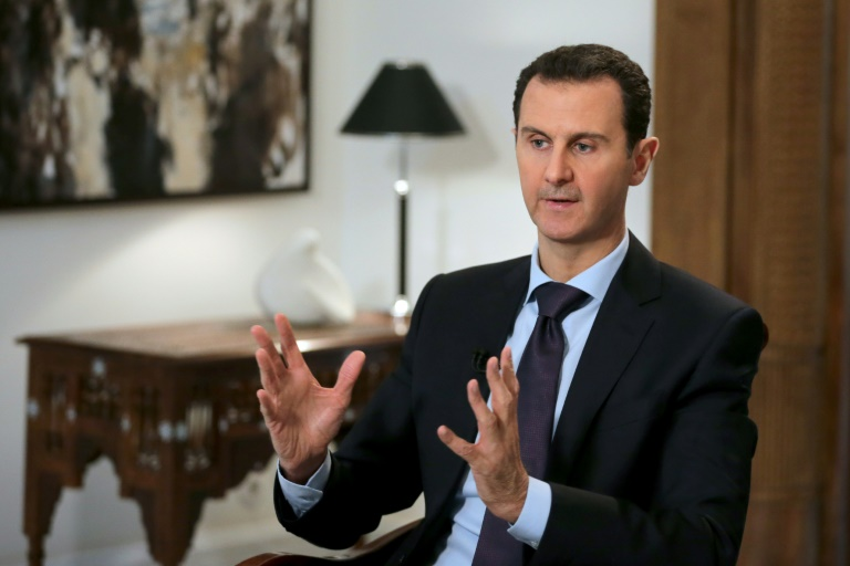 AFP / Joseph Eid<br />Syrian President Bashar al-Assad pictured during an exclusive interview with AFP in the capital Damascus on February 11, 2016