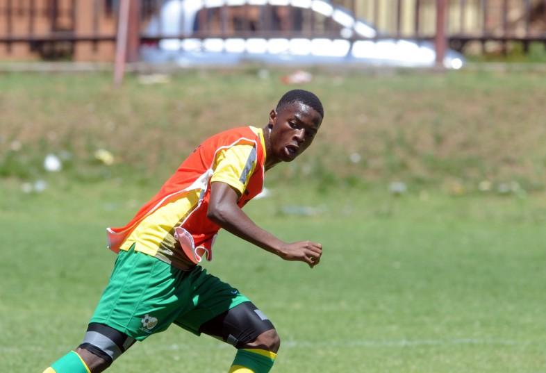 Phakamani Mahlambi during the South Africa U23 Training at Eldorado Park  (Pic Sydney Mahlangu/ BackpagePix)