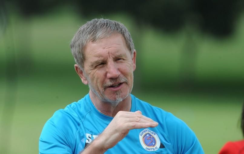 Stuart Baxter coach of Supersport United (Pic Sydney Mahlangu/ BackpagePix)