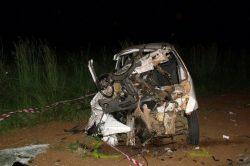 Two dead, seven injured in crash