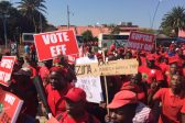 LIVE: EFF's Pay Back The Money march