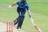 Root strokes fabulous century before England fade at the death