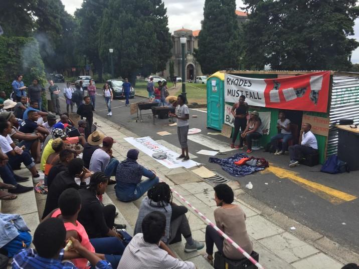 UCT blame RMF for 'Shackville' housing crisis