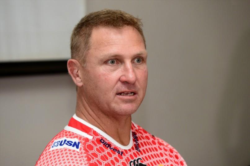 Lions coach Johan Ackermann. Photo: Lee Warren/Gallo Images