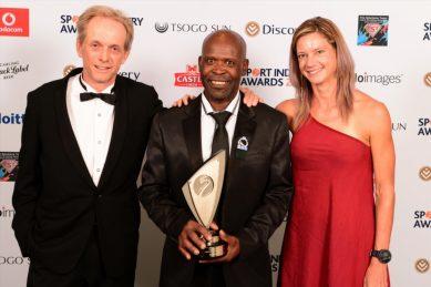 Tshabalala, Du Toit honoured at Sport Industry Awards