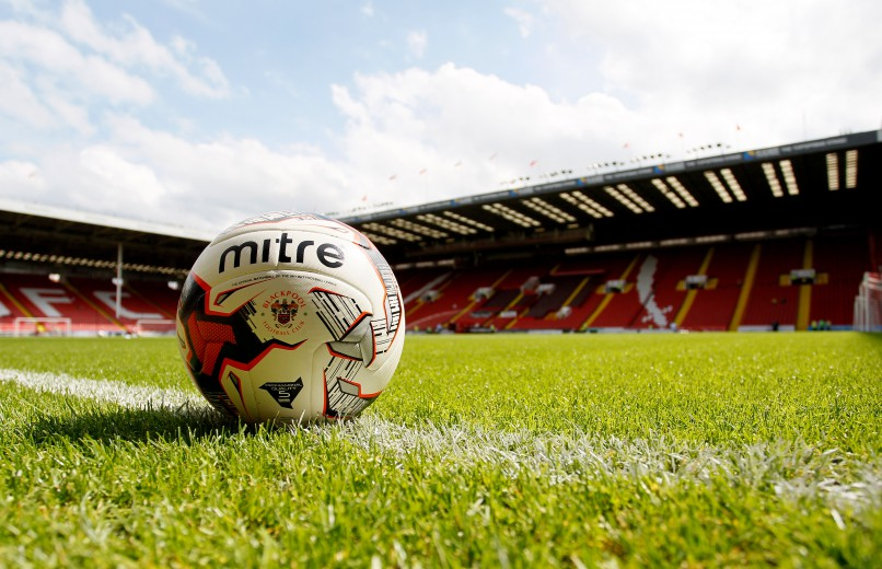 Ball on the pitch.