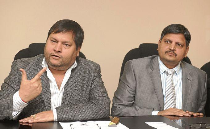 Ajay and Atul Gupta.