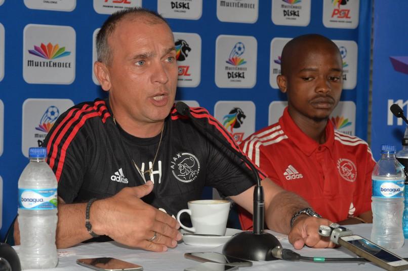 Vladislav Heric, Ajax Cape Town Diski Challenge team coach (Chris Ricco/BackpagePix)