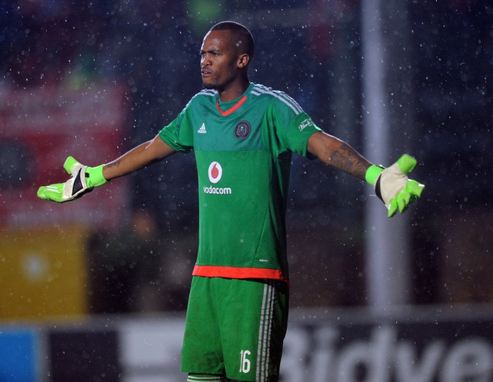 Brighton Mhlongo of Orlando Pirates (Sydney Mahlangu/ BackpagePix)
