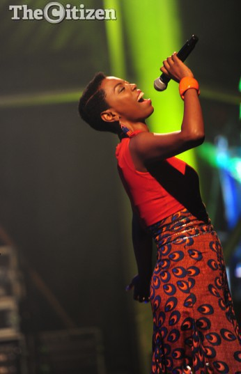 South African Singer, Lira performs at the Diamonds and Dorings festival in Kimberly over the Easter weekend from Thursday 24th to Sunday 27th March 2016. Picture: Nigel Sibanda