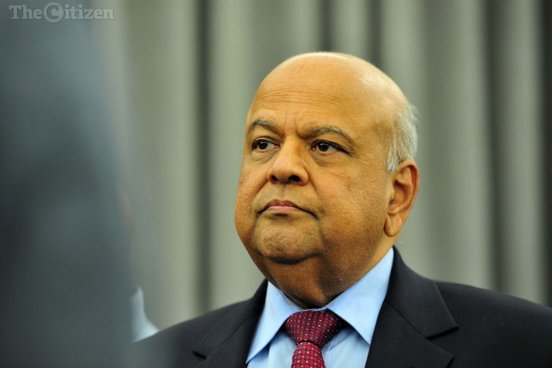 File picture: Former finance minister, Pravin Gordhan. Picture: Neil McCartney