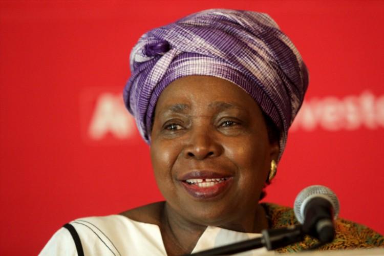 Outgoing Africa Union Chairperson Dr Nkosazana Dlamini-Zuma. (Photo by Gallo Images / Foto24 / Danielle Karallis)