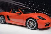 Performance meets heritage with Porsche's 718 Boxster