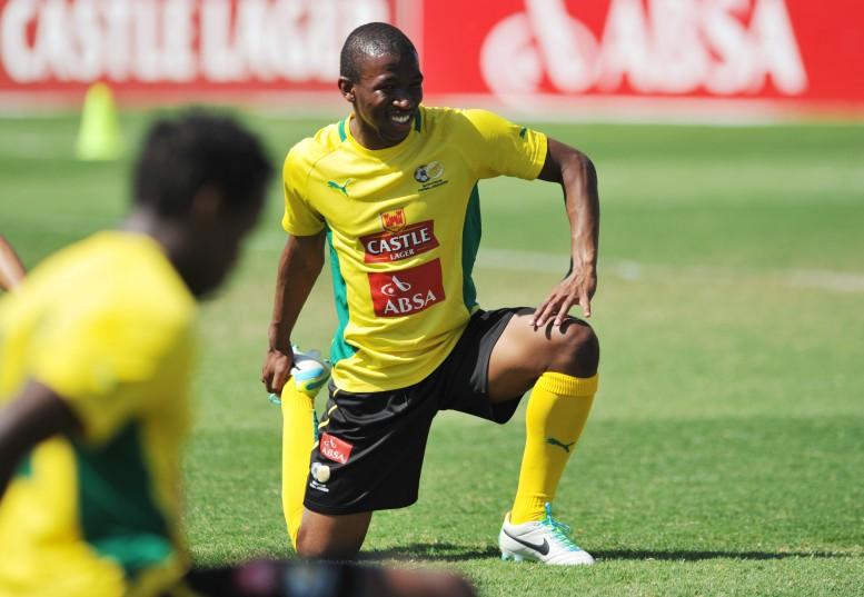 Kamohelo Mokotjo during Bafana Bafana training. (Sabelo Mngoma/BackpagePix)