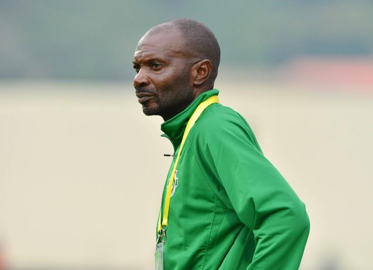 Kalisto Pasuwa, coach of Zimbabwe. ©Gavin Barker/BackpagePix