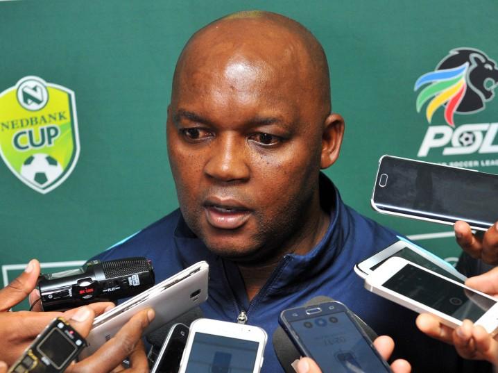 Pitso Mosimane, coach of Mamelodi Sundowns (Samuel Shivambu/BackpagePix)