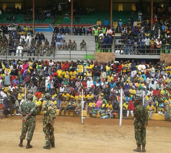 Crowds gather in Giyani, Limpopo, for Jacob Zuma's Freedom Day keynote address.