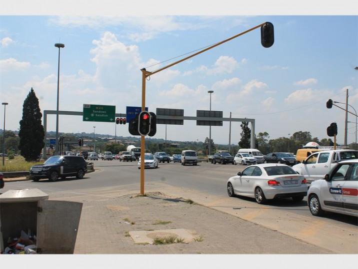 Grayston Drive in Sandton, north of Johannesburg. Photo: Sandton Chronicle.