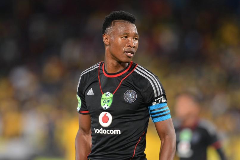 RETIRED: Siyabonga Sangweni of Orlando Pirates (Photo by Lefty Shivambu/Gallo Images)