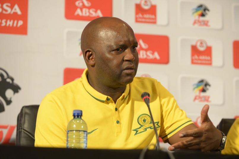 Mamelodi Sundowns coach Pitso Mosimane (Photo by Sydney Seshibedi/Gallo Images)