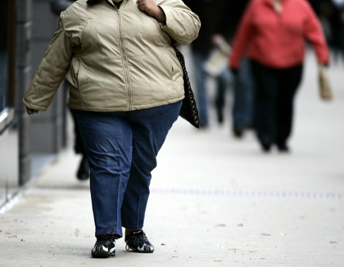 AFP/File / Jeff Haynes<br />Of about five billion adults alive in 2014, 641 million were obese, a survey shows, with the number projected to balloon past 1.1 billion by 2025