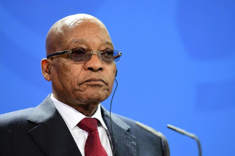 AFP/File / John MacDougall<br />South African President Jacob Zuma