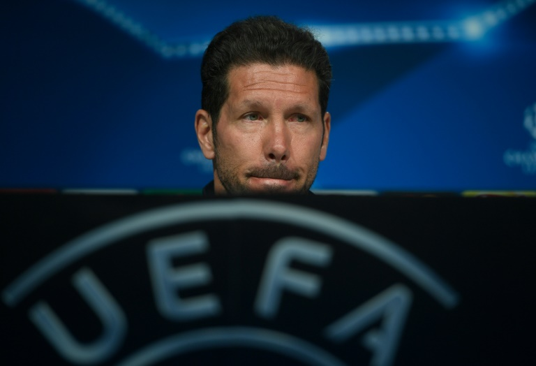AFP/File / Pierre-Philippe Marcou<br />Atletico Madrid's Argentine coach Diego Simeone