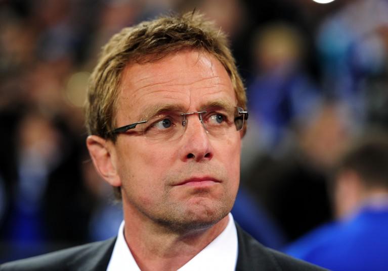 RB Leipzig Coach Ralf Rangnick.