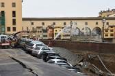 Road collapses near Florence's famed Ponte Vecchio bridge