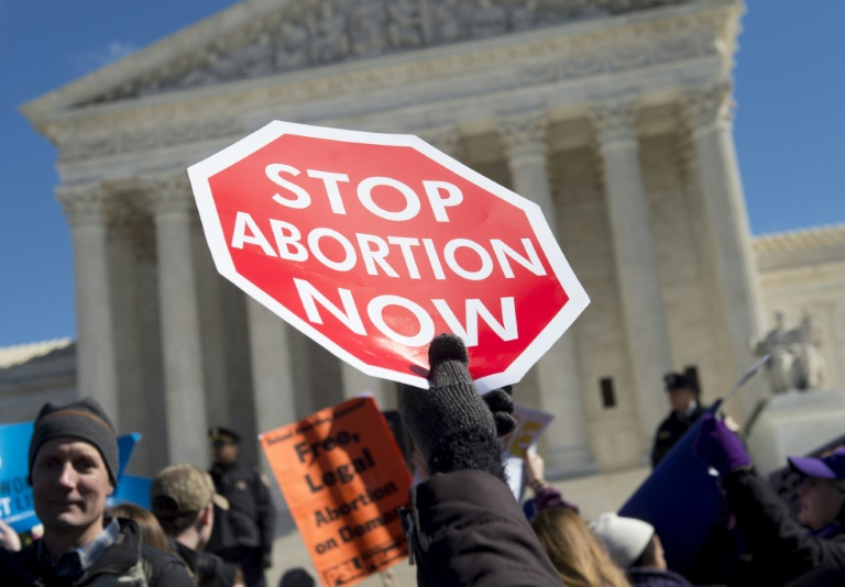 AFP/File / Saul Loeb<br />Between 1990 and 2014, an average of 56 million abortions took place each year worldwide, reported the study, published in the medical journal The Lancet