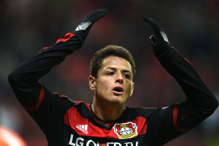 AFP/File / Patrik Stollarz<br />Javier Hernandez will headline Mexico's 23-man squad named to compete in next month's Copa America Centenario