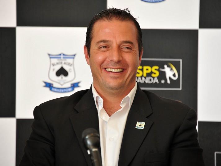 Mario Morfou, co-chairman of  Alex Black Aces (Samuel Shivambu/BackpagePix)