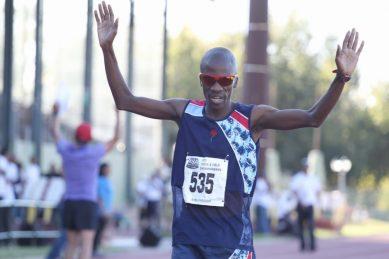 Mokoka wins OneRun race in sprint finish