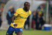 Anthony Laffor during the Absa Premiership match between University of Pretoria and Mamelodi Sundowns at Tuks Stadium on May 04, 2016 in Pretoria, South Africa. (Photo by Lefty Shivambu/Gallo Images)