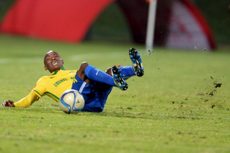 Khama Billiat during the Absa Premiership match between University of Pretoria and Mamelodi Sundowns at Tuks Stadium on May 04, 2016 in Pretoria, South Africa. (Photo by Lefty Shivambu/Gallo Images)