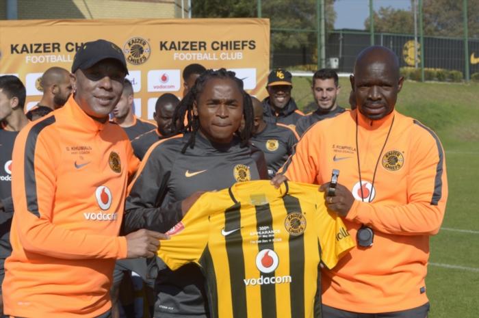 Watch: Komphela congratulates Shabba for his milestone